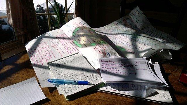papír na psaní