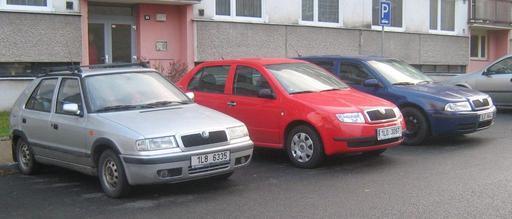 automobily značky Škoda